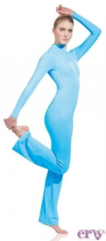 Ervy Jazzoverall mit langem Arm u.ausgestelltem Bein, Micro Meryl matt