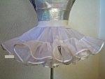 Petticoat 2-stufig / 1-lagig, Länge 25 cm
