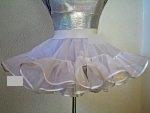 Petticoat 2-stufig / 1-lagig, Länge 30 cm