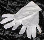 Baumwollhandschuhe weiß für Kinder