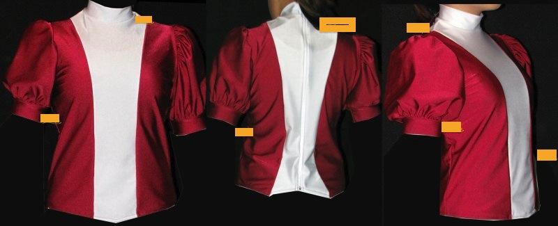 Uniformweste Jana ab Gr. 116 Kindergröße
