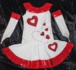 Tanzmariechenkleid Kindergröße ohne Armstulpen