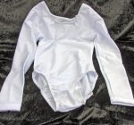 Kinder Uniform-Body mit langem Arm, Lycra elastisch