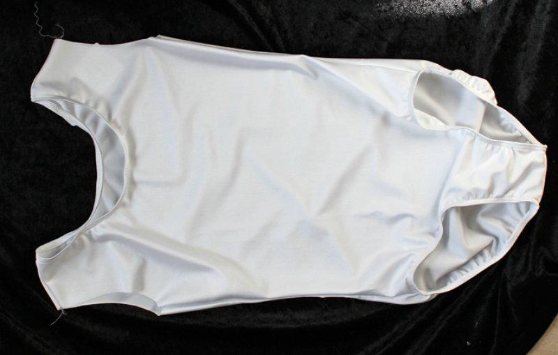 Uniform-Body mit breitem Träger (geeignet zum Annähen von Kostümärmeln