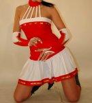 Tanzmariechenkostüm Clavia ohne Armstulpen
