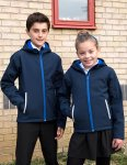 Junior Hooded Softshell Jacket, RT224J