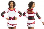 FLORIDA Kleid Cheerkleid inkl. Strass Swarovski Elements ® Strasssteine Ervy Cheer Edition