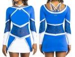 LOUISIANA Kleid Cheerkleid inkl. Strass Swarovski Elements ® Strasssteine Ervy Cheer Edition