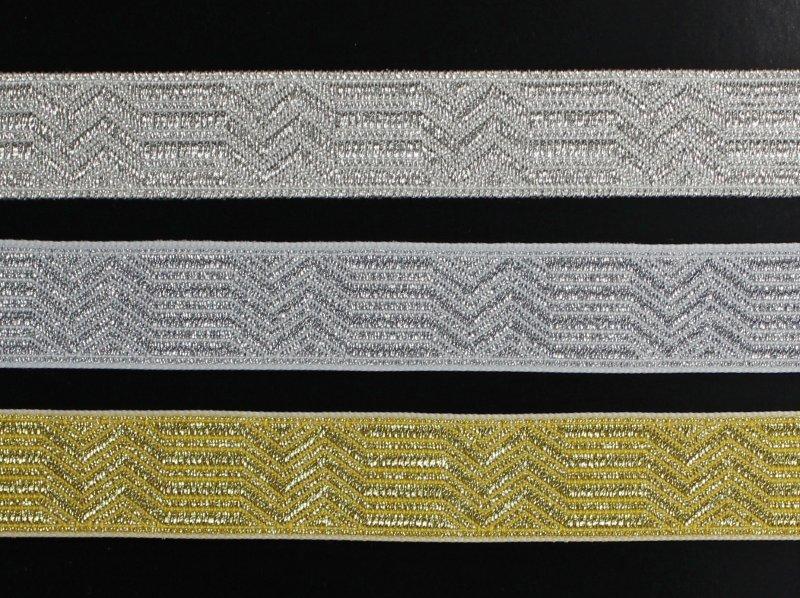 Zusatz: Aufpreis Uniformtresse gebrochener Stab 20 mm, nur in Verbindung mit Hutbestellung