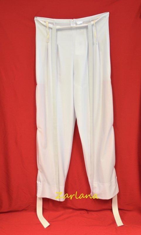 Tanzhose elastisch mit Kellerfalten ab Gr. 54